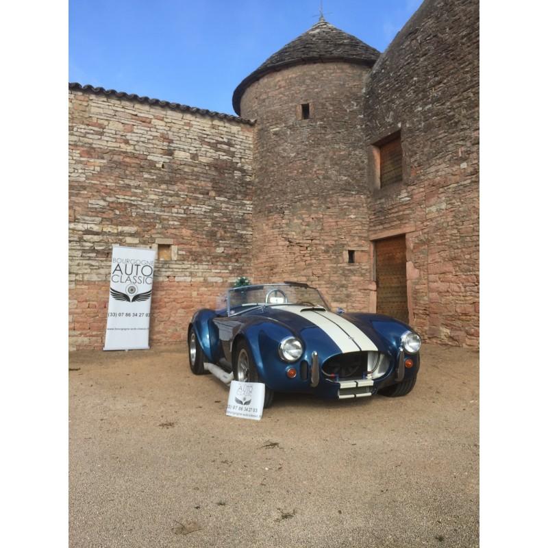 cobra contemporary classic bleu V8 ford 7 litres side oiler à vendre en france