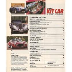 NAF cobra  ''king of The Road'' Kit car Mag Novembre 1989