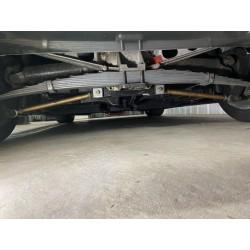 chassis cobra rouge sur base de corvette C3