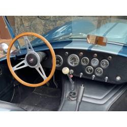 intérieur réplique cobra Butler Racing volant bois