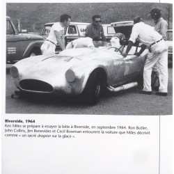 Ron Butler et le pilote  Ken Miles