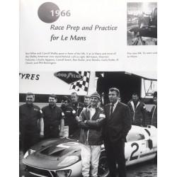 Ron Butler et Carroll Shelby  aux 24h du Mans 1966