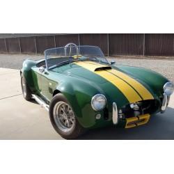 Cobra Everett-Morrison V8 ford 7 litre couleur verte anglais   à vendre